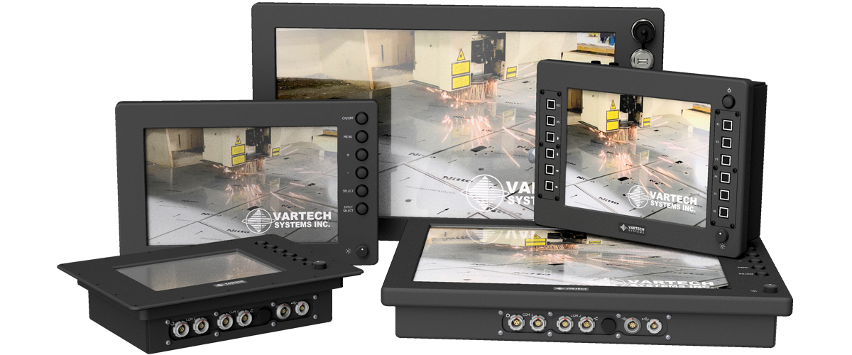IP67 Water Proof Displays and Panel PCs