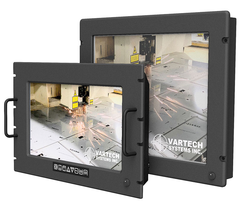 Rugged Rack Mount Monitors
