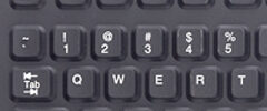Silicone Rubber Keyboard Option