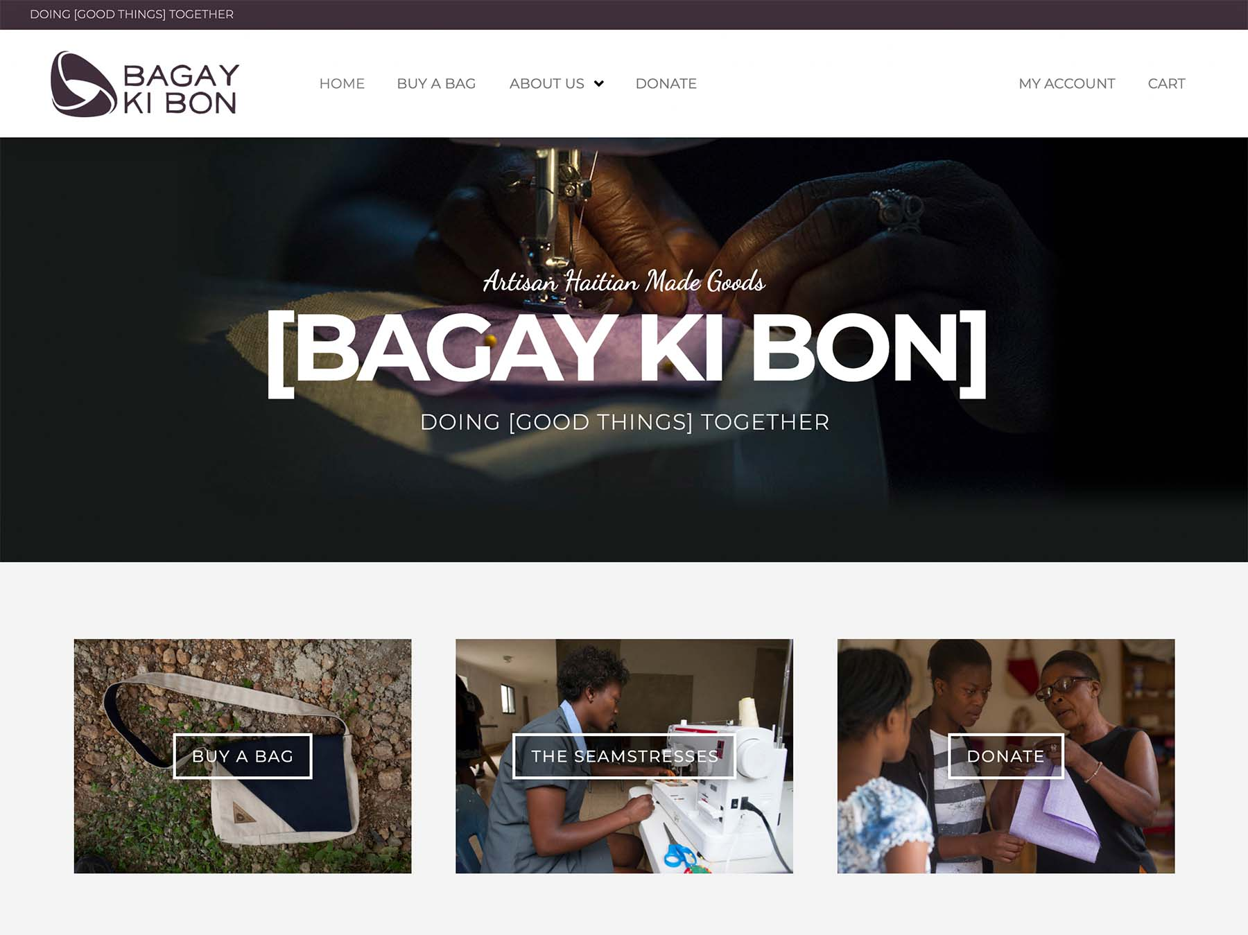 "Featured image for ""Bagay Ki Bon"""