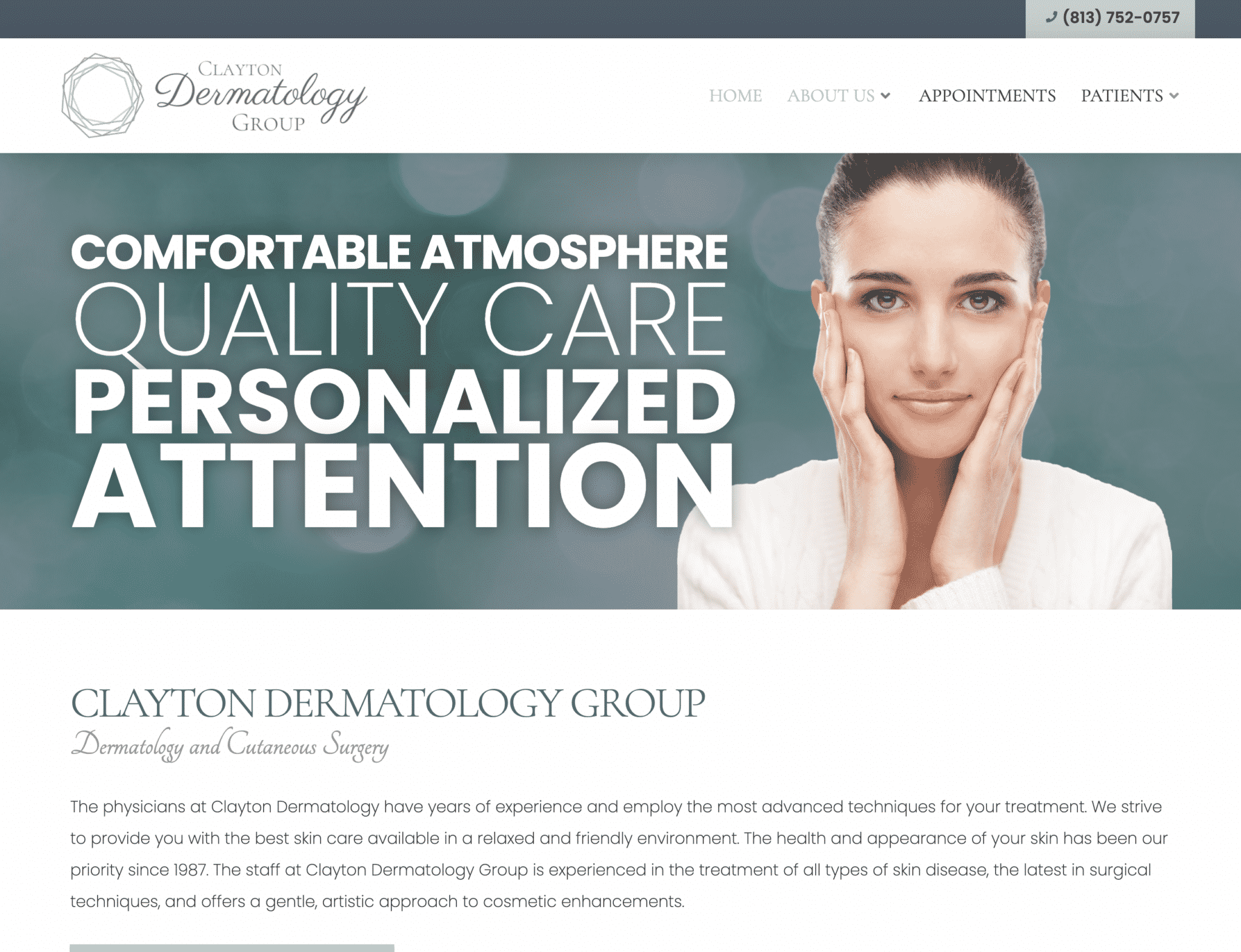 """Featured image for """"Clayton Dermatology"""""""