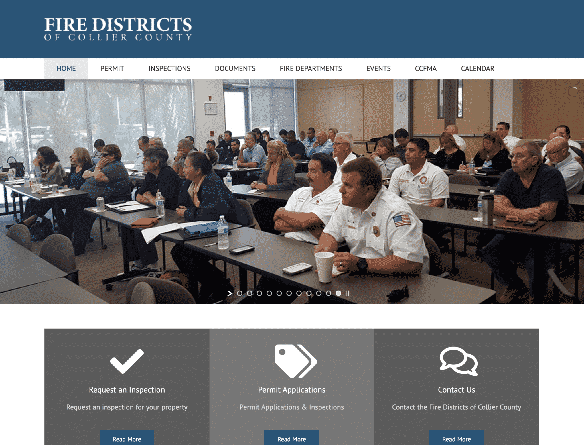 """Featured image for """"Collier County Fire Marshalls"""""""