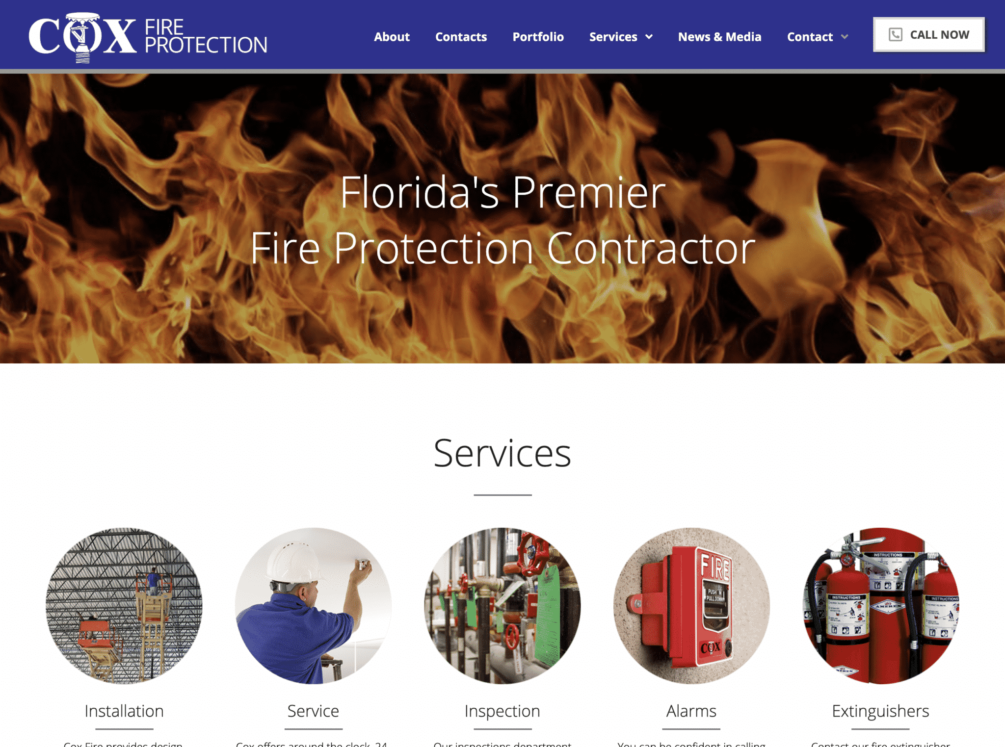 """Featured image for """"Cox Fire Protection"""""""