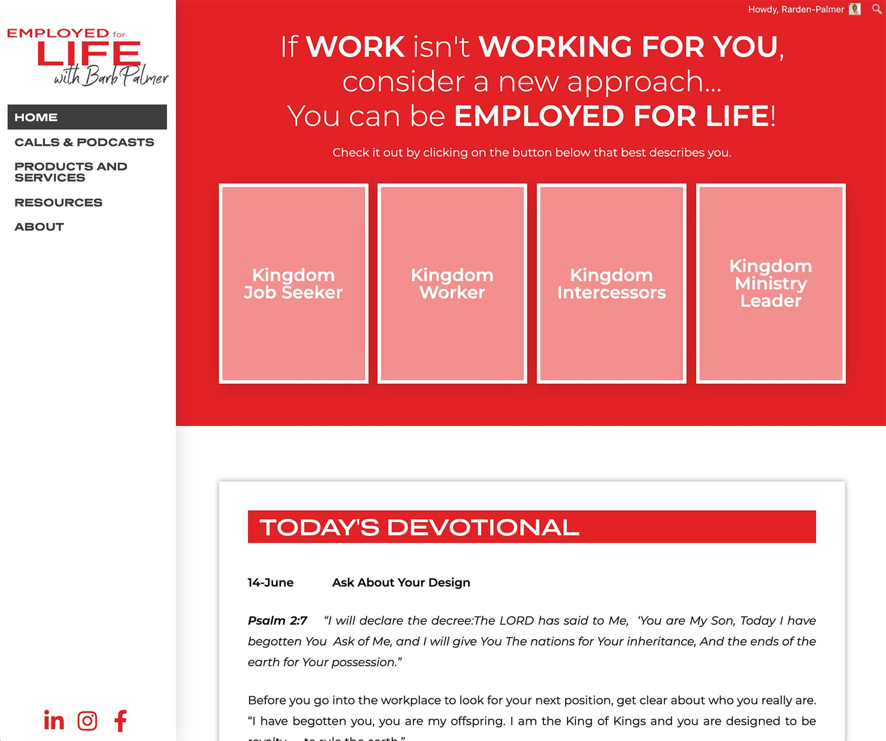 """Featured image for """"Employed For Life"""""""