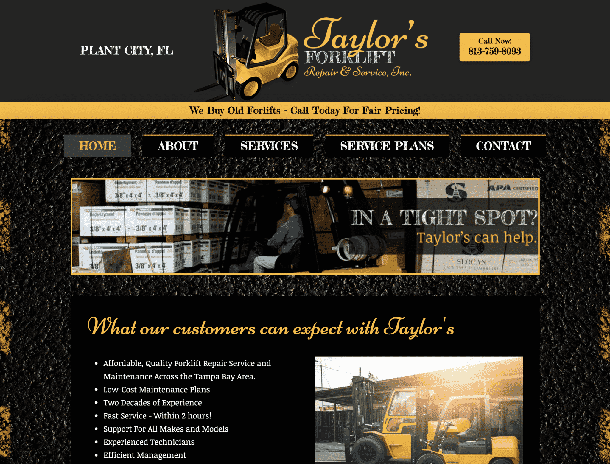 """Featured image for """"Taylors Forklift"""""""