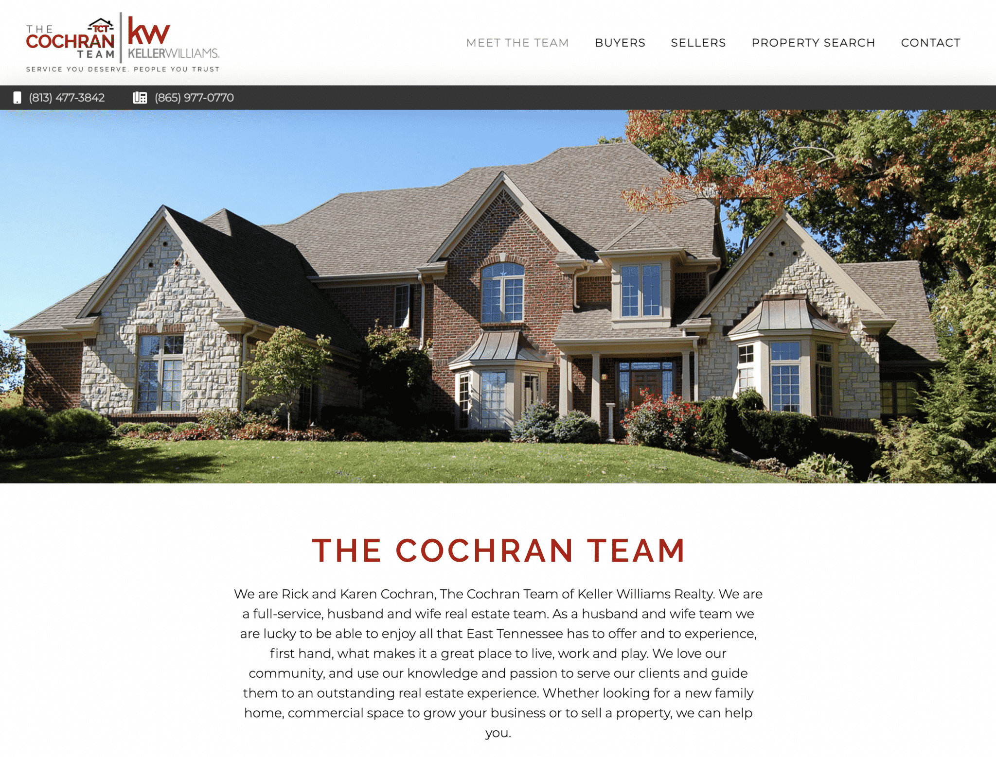 """Featured image for """"The Cochran Team"""""""