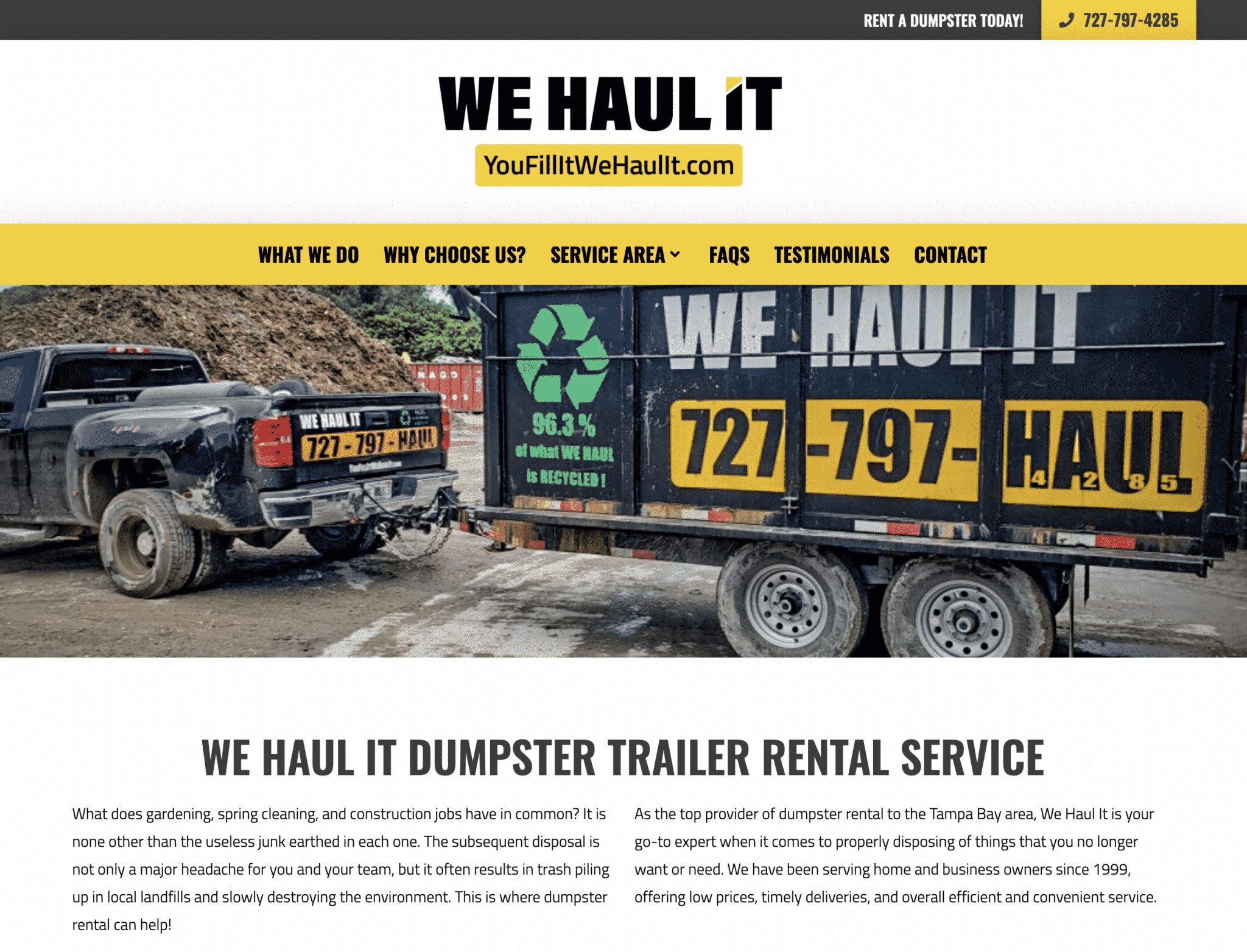 """Featured image for """"We Haul It"""""""