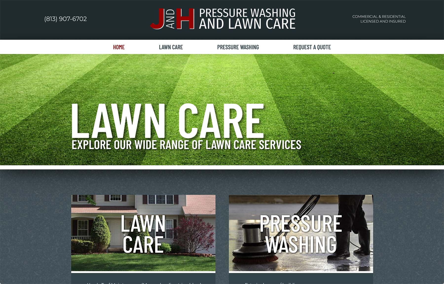 """Featured image for """"J&H Lawn Care"""""""