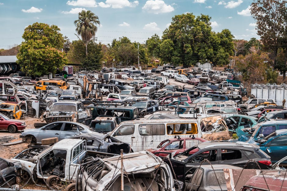 selling your car to a junkyard