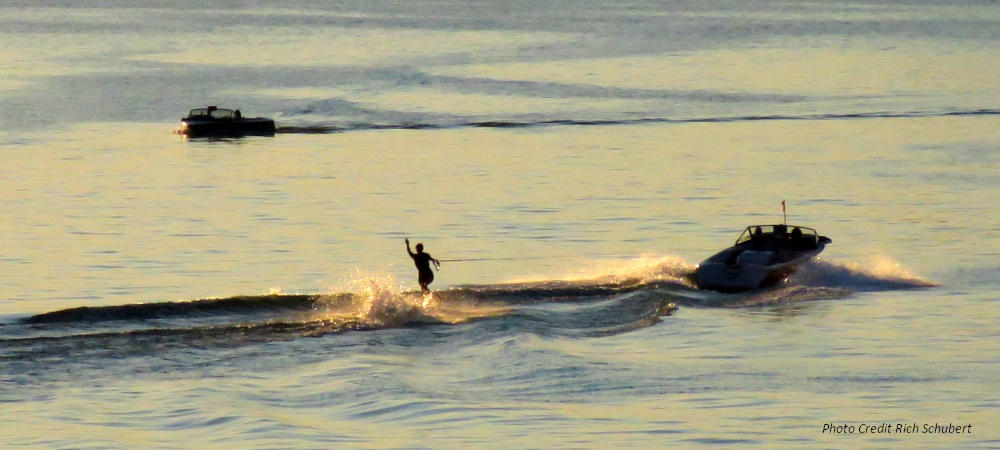 Lake Lotawana Swivel Skiier