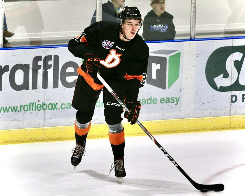 Wild Acquire Travis Bohnet from Dragons