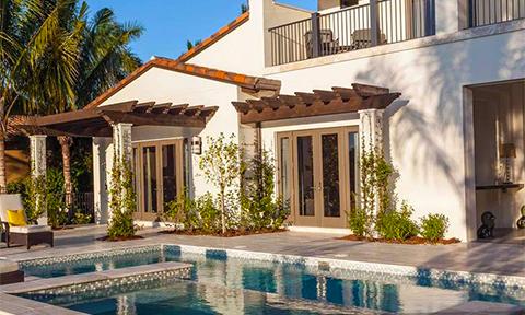 Model home in Mediterra, Naples, Florida