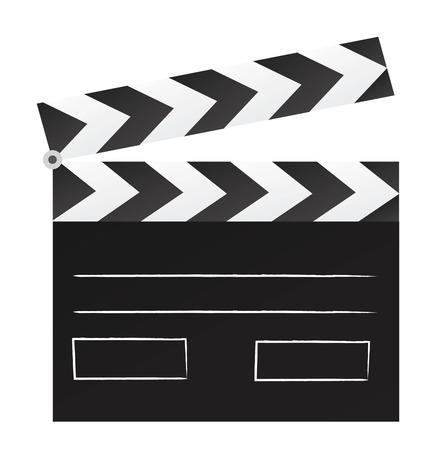 film scene chalkboard