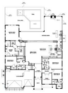 McGarvey Custom Homes High Tide floor plan at Naples Reserve, Naples, Florida - more info contact david@davidflorida.com