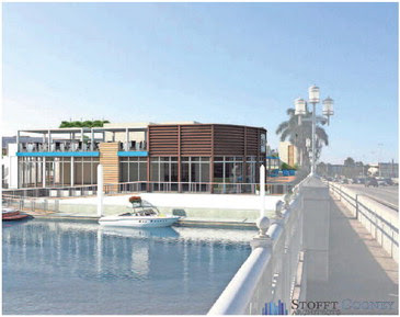 New Naples waterfront area concept - graphic: Stofft Cooney Architects