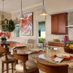 kitchen London Bay Homes custom luxury homes Angelica model at Mediterra Naples, Florida | photo: londonbayhomes.com