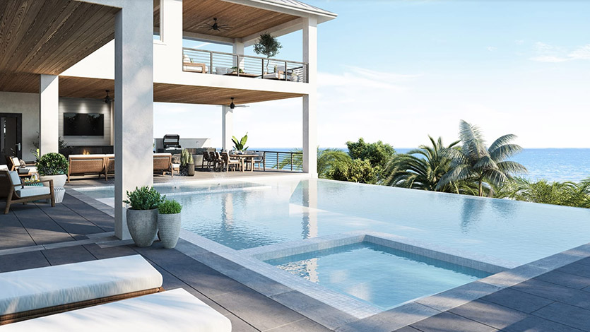Seagate's Bal Harbour model in Hill Tide Estates, Boca Grande is open for viewing and purchase. photo: https://seagatedevelopmentgroup.com