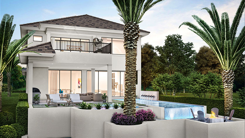 Seagate's Monterey model in Isola Bella open for viewing and purchase. photo: https://seagatedevelopmentgroup.com