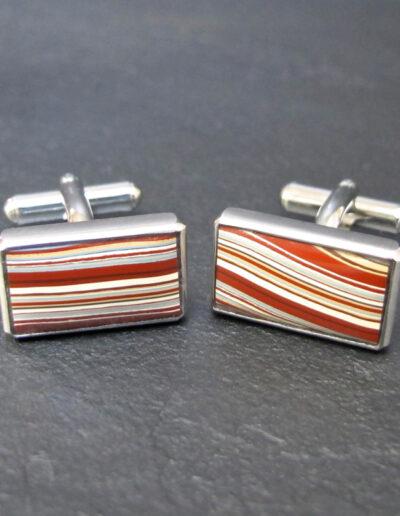 Stainless-Steel-_-Motor-Agate-Fordite-Cufflinks-1241