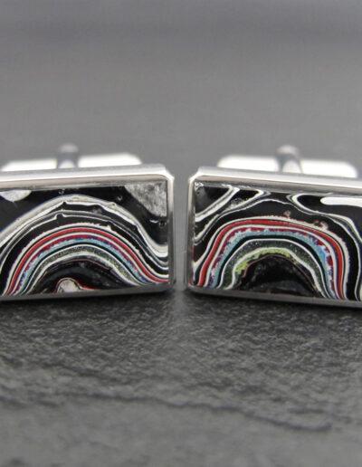 Stainless-Steel-_-Motor-Agate-Fordite-Cufflinks-1385