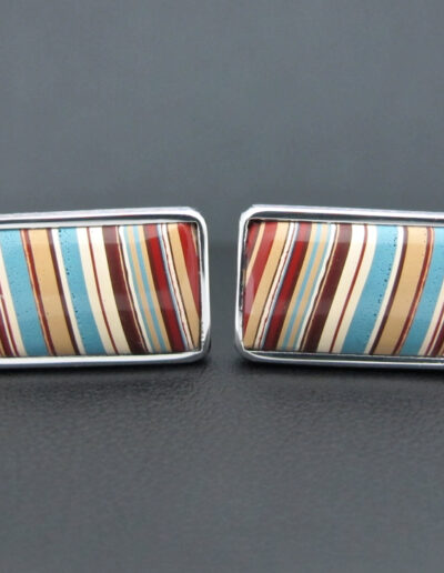 Stainless-Steel-_-Motor-Agate-Fordite-Cufflinks-1515
