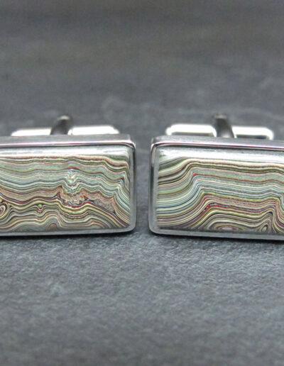 Stainless-Steel-_-Motor-Agate-Fordite-Cufflinks-1687