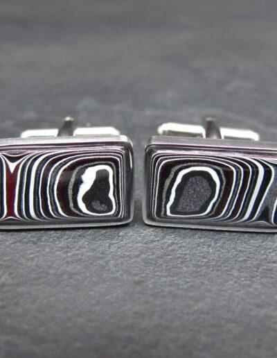 Stainless-Steel-_-Motor-Agate-Fordite-Cufflinks-1737