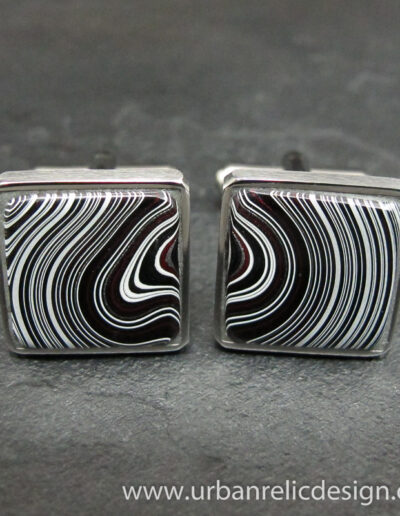 Stainless-Steel-_-Motor-Agate-Fordite-Cufflinks-1782