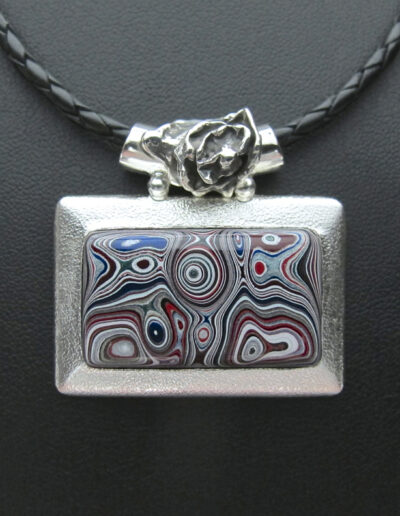 Stainless-Steel-and-Motor-Agate-Fordite-Necklace-1565-1