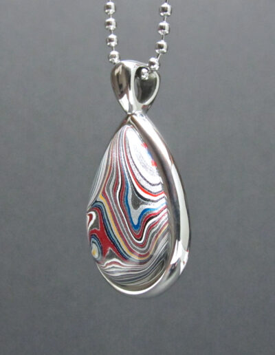 Stainless-Steel-and-Motor-Agate-Fordite-Necklace-1587-2