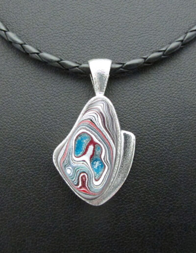 Sterling-Silver-Leather-and-Motor-Agate-Fordite-Necklace-1714-3