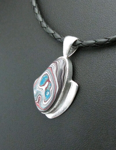 Sterling-Silver-Leather-and-Motor-Agate-Fordite-Necklace-1714-4