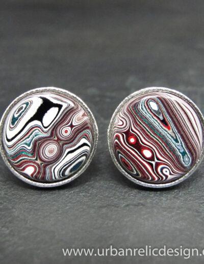 Sterling-Silver-_-Motor-Agate-Fordite-Cufflinks-1758