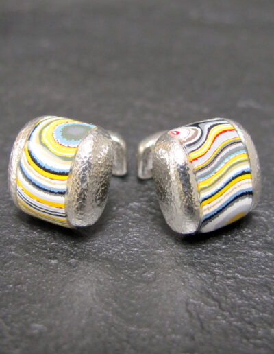 Sterling-Silver-_-Motor-Agate-Fordite-Domed-Inlayed-Cufflinks-1256