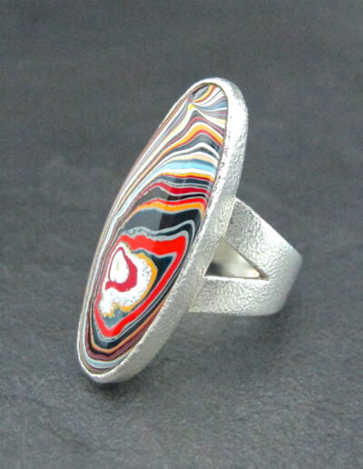 Sterling-Silver-_-Motor-Agate-Fordite-Heavy-Large-Oval-Ring-1582-2