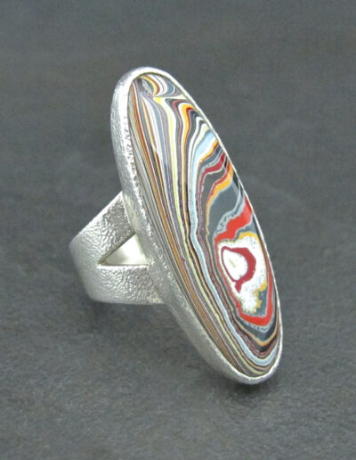 Sterling-Silver-_-Motor-Agate-Fordite-Heavy-Large-Oval-Ring-1582-3