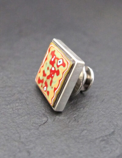 Sterling-Silver-_-Motor-Agate-Fordite-Lapel-Pin-Tie-Tack-1338-1