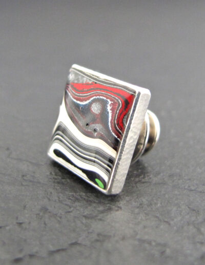 Sterling-Silver-_-Motor-Agate-Fordite-Lapel-Pin-Tie-Tack-1361-2