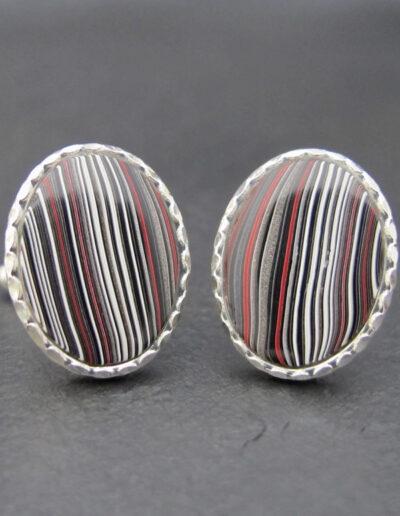 Sterling-Silver-_-Motor-Agate-Fordite-Oval-Cufflinks-1322
