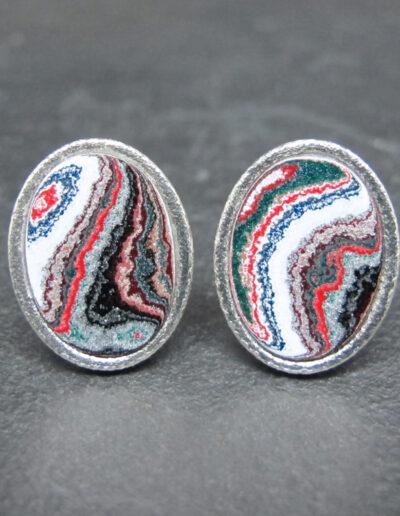 Sterling-Silver-_-Motor-Agate-Fordite-Oval-Cufflinks-1610