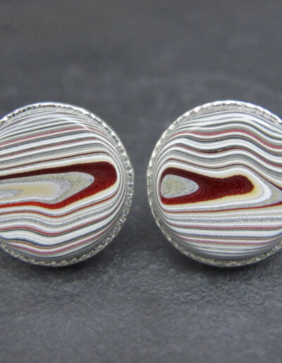 Sterling-Silver-_-Motor-Agate-Fordite-Round-Cufflinks-1629