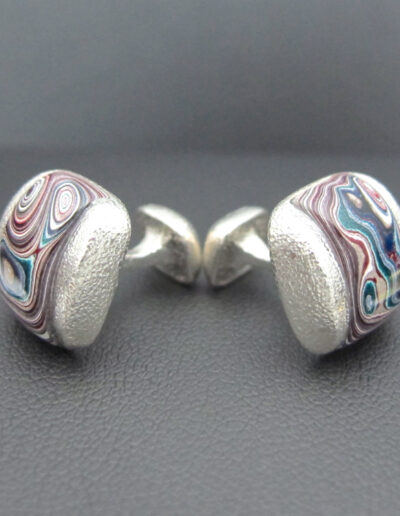 Sterling-Silver-_-Motor-Agate-Fordite-Small-Square-Cufflinks-1540-2
