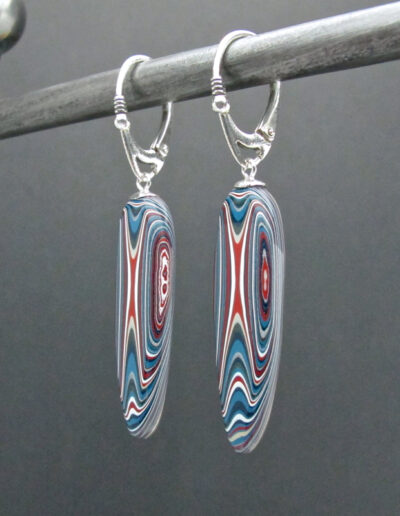 Sterling-Silver-and-Motor-Agate-Fordite-Bead-Earrings-1447-2
