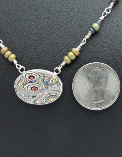 Sterling-Silver-and-Motor-Agate-Fordite-Beaded-Necklace-1429-2