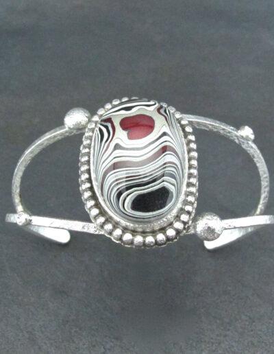 Sterling-Silver-and-Motor-Agate-Fordite-Bracelet-1708-2