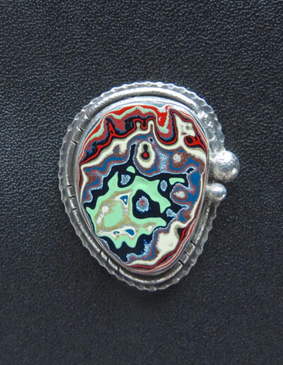 Sterling-Silver-and-Motor-Agate-Fordite-Brooch-1475-1