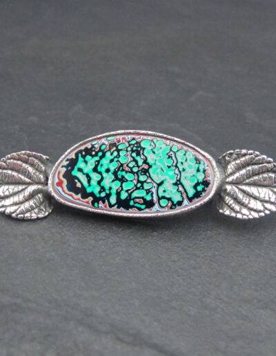 Sterling-Silver-and-Motor-Agate-Fordite-Brooch-1631-1