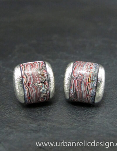 Sterling-Silver-and-Motor-Agate-Fordite-Cufflinks-1771