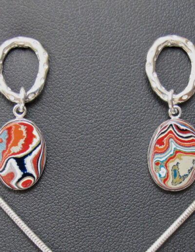 Sterling-Silver-and-Motor-Agate-Fordite-Earrings-1187-2