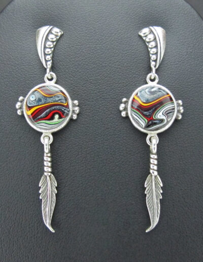 Sterling-Silver-and-Motor-Agate-Fordite-Earrings-1517